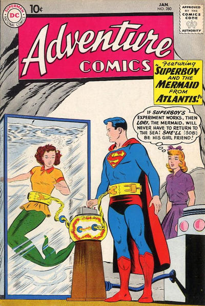 Cover for Adventure Comics (DC, 1938 series) #280