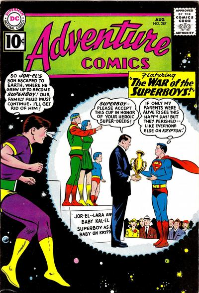 Cover for Adventure Comics (DC, 1938 series) #287