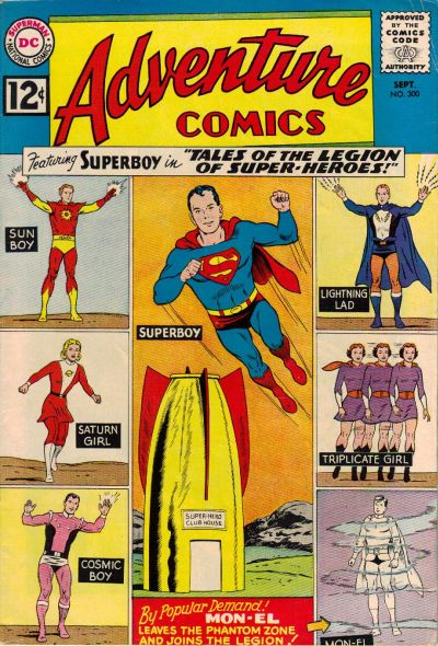 Cover for Adventure Comics (DC, 1938 series) #300