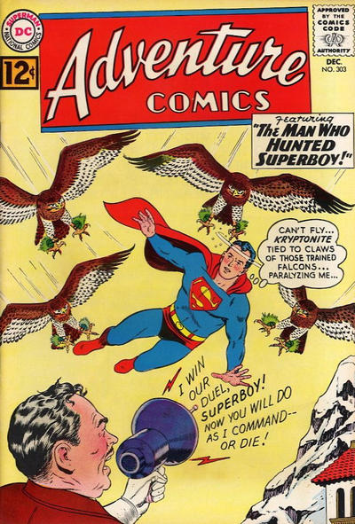 Cover for Adventure Comics (DC, 1938 series) #303