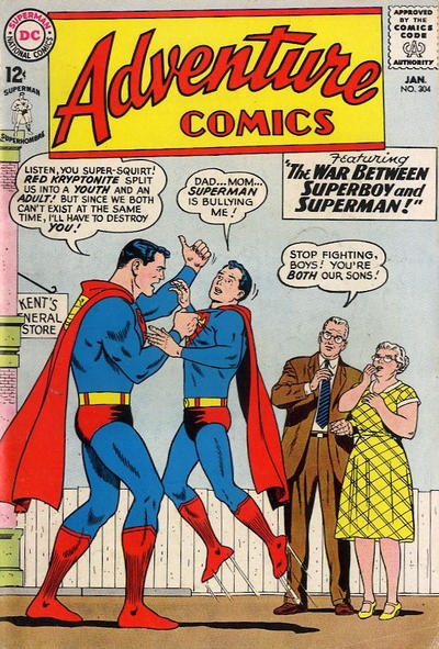 Cover for Adventure Comics (DC, 1938 series) #304