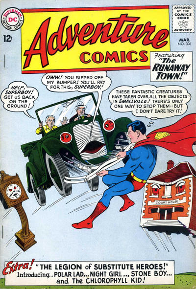 Cover for Adventure Comics (DC, 1938 series) #306