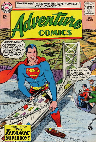 Cover for Adventure Comics (DC, 1938 series) #315