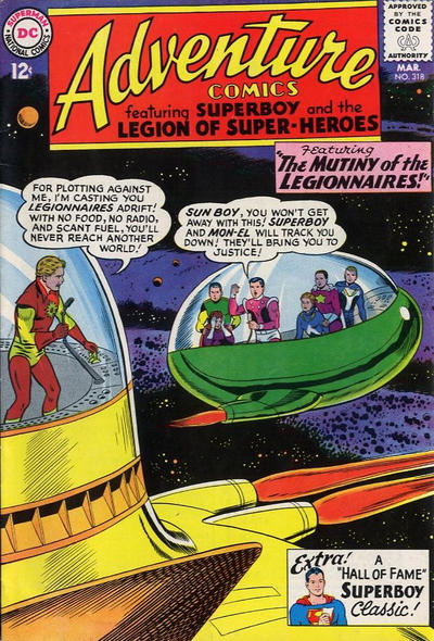 Cover for Adventure Comics (DC, 1938 series) #318
