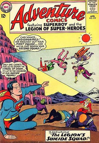Cover for Adventure Comics (DC, 1938 series) #319