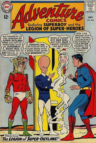 Cover for Adventure Comics (DC, 1938 series) #324