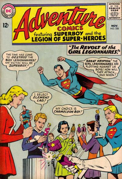 Cover for Adventure Comics (DC, 1938 series) #326