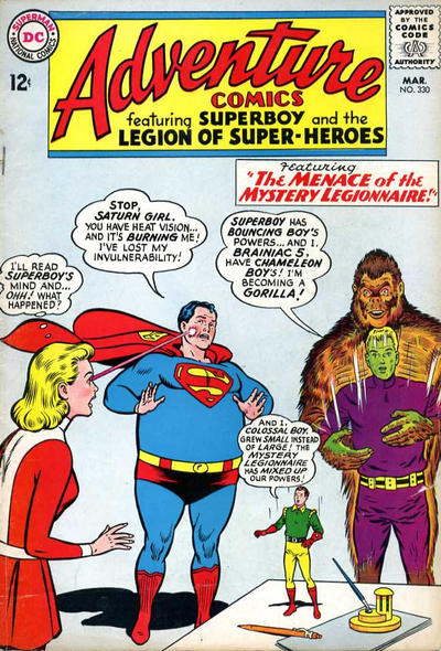 Cover for Adventure Comics (DC, 1938 series) #330