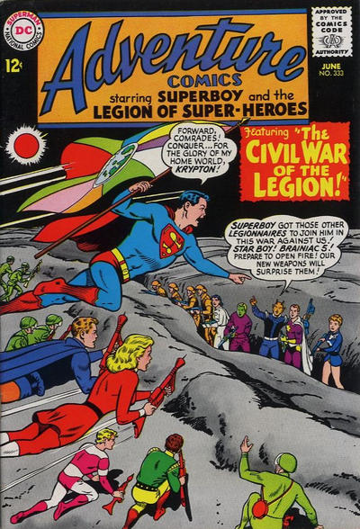 Cover for Adventure Comics (DC, 1938 series) #333