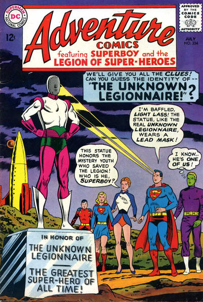 Cover for Adventure Comics (DC, 1938 series) #334