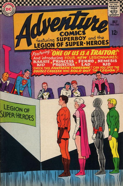 Cover for Adventure Comics (DC, 1938 series) #346