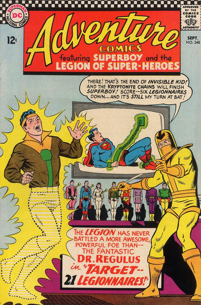 Cover for Adventure Comics (DC, 1938 series) #348