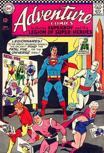 Cover for Adventure Comics (DC, 1938 series) #352