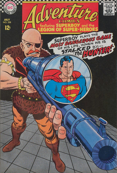 Cover for Adventure Comics (DC, 1938 series) #358