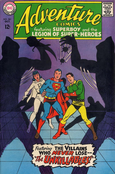 Cover for Adventure Comics (DC, 1938 series) #361