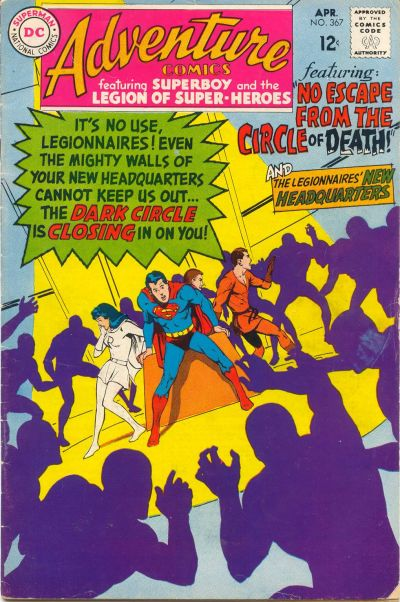 Cover for Adventure Comics (DC, 1938 series) #367