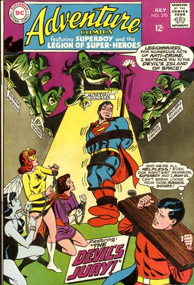 Cover for Adventure Comics (DC, 1938 series) #370