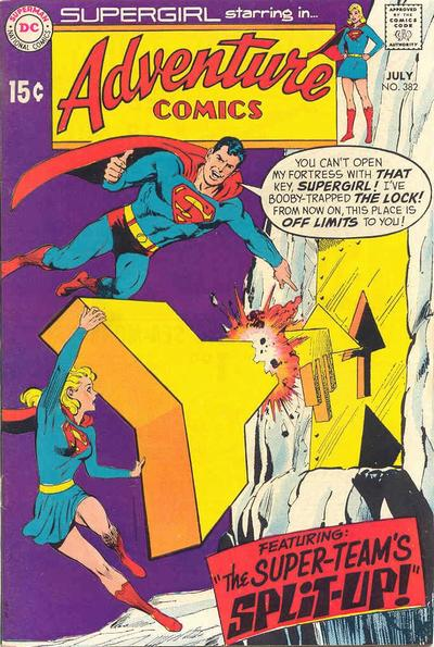 Cover for Adventure Comics (DC, 1938 series) #382