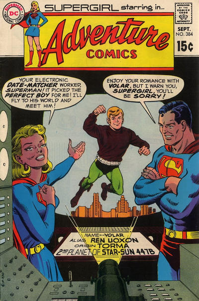 Cover for Adventure Comics (DC, 1938 series) #384