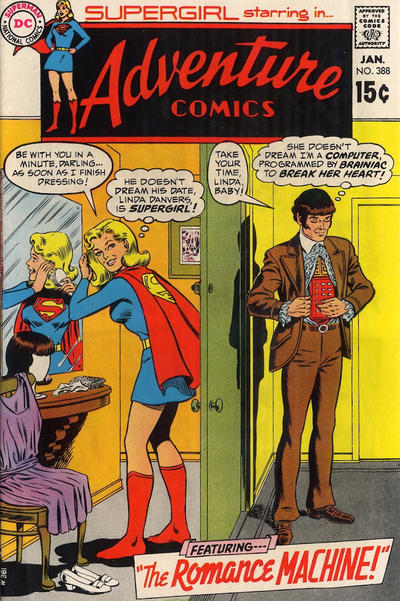 Cover for Adventure Comics (DC, 1938 series) #388