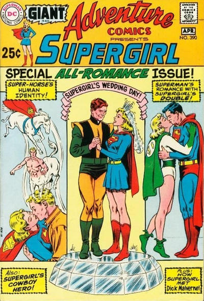 Cover for Adventure Comics (DC, 1938 series) #390