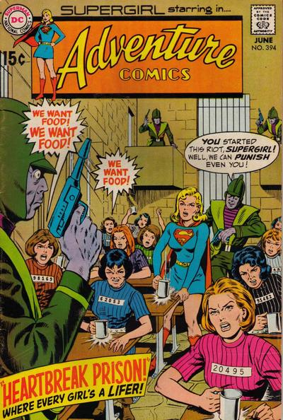 Cover for Adventure Comics (DC, 1938 series) #394