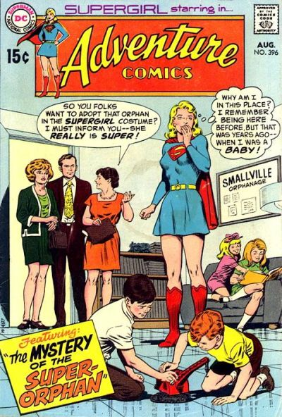 Cover for Adventure Comics (DC, 1938 series) #396