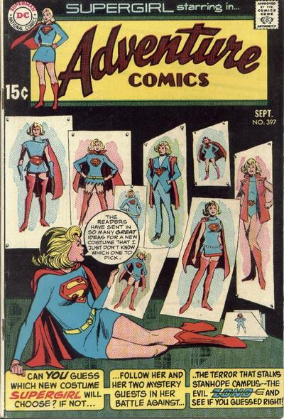 Cover for Adventure Comics (DC, 1938 series) #397