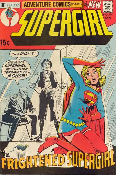 Cover for Adventure Comics (DC, 1938 series) #401