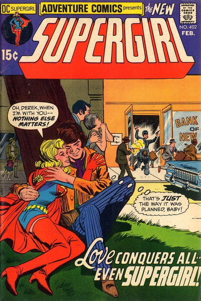 Cover for Adventure Comics (DC, 1938 series) #402