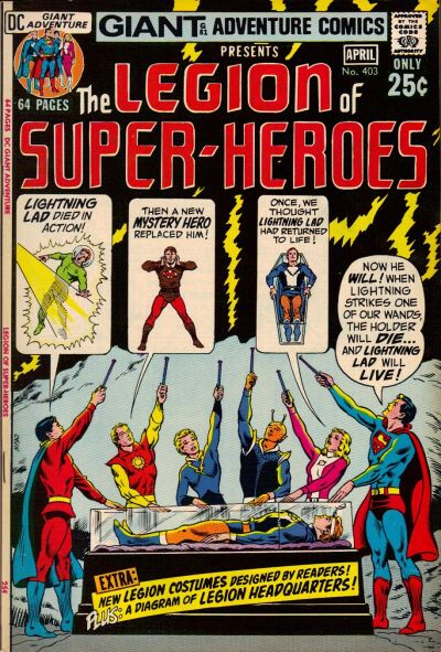 Cover for Adventure Comics (DC, 1938 series) #403