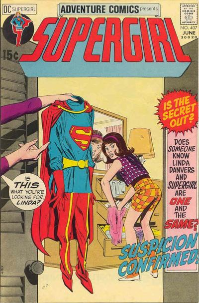 Cover for Adventure Comics (DC, 1938 series) #407