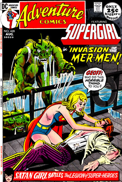 Cover for Adventure Comics (DC, 1938 series) #409