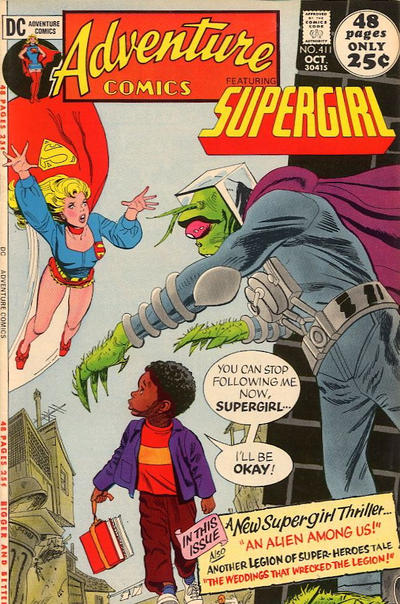 Cover for Adventure Comics (DC, 1938 series) #411