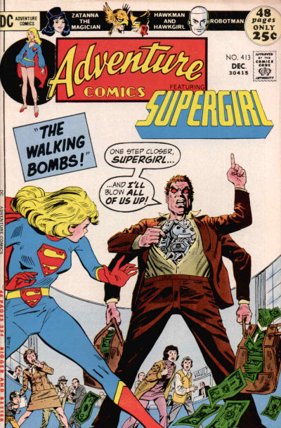 Cover for Adventure Comics (DC, 1938 series) #413