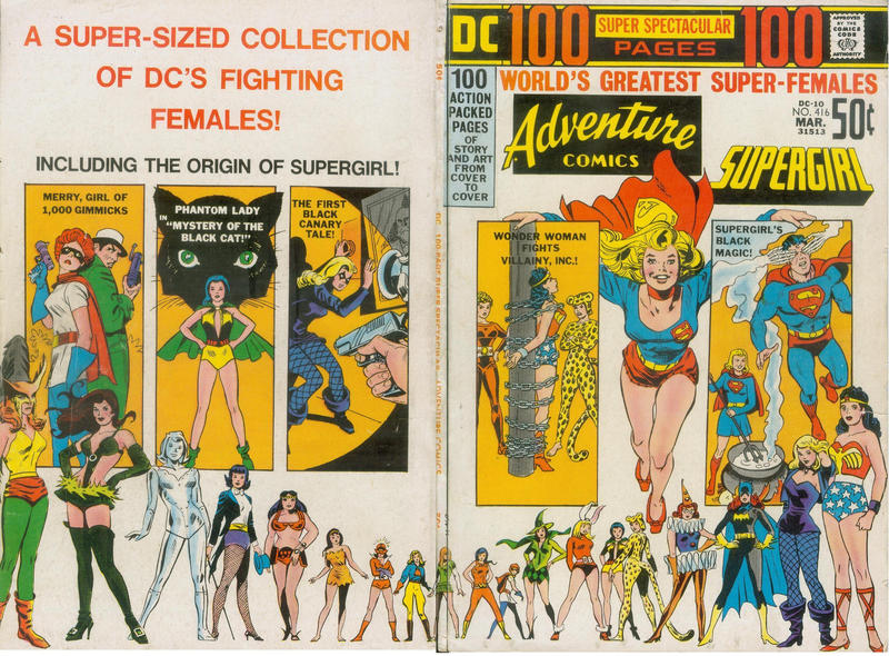 Cover for Adventure Comics (DC, 1938 series) #416