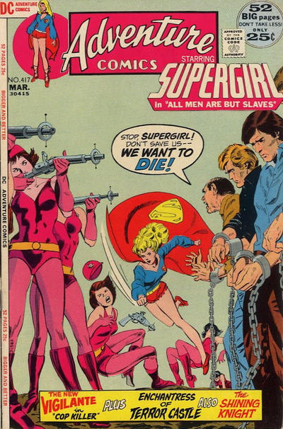 Cover for Adventure Comics (DC, 1938 series) #417