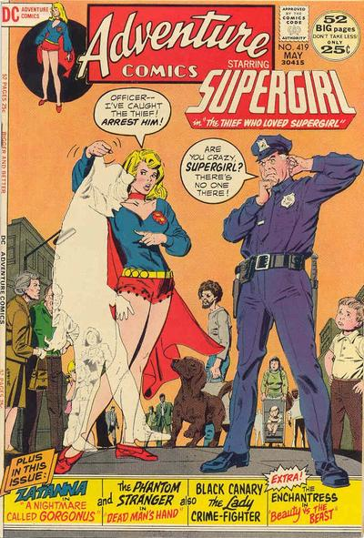 Cover for Adventure Comics (DC, 1938 series) #419