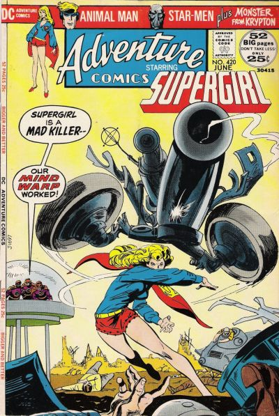 Cover for Adventure Comics (DC, 1938 series) #420