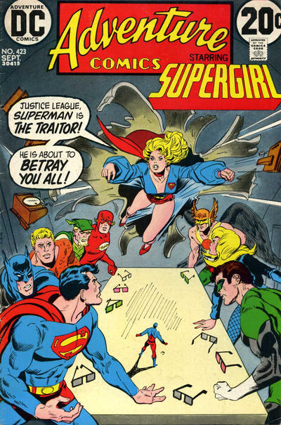 Cover for Adventure Comics (DC, 1938 series) #423