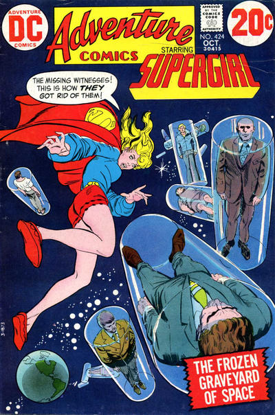 Cover for Adventure Comics (DC, 1938 series) #424