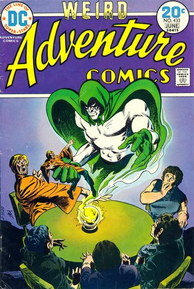 Cover for Adventure Comics (DC, 1938 series) #433