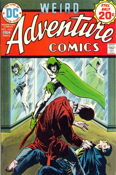 Cover for Adventure Comics (DC, 1938 series) #434