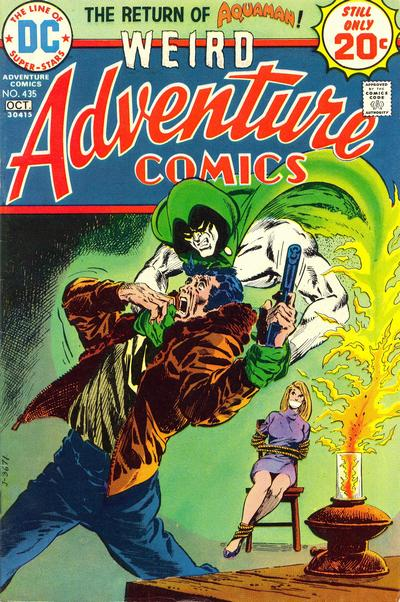 Cover for Adventure Comics (DC, 1938 series) #435
