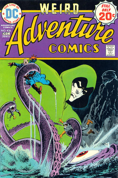 Cover for Adventure Comics (DC, 1938 series) #436