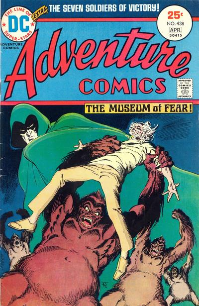 Cover for Adventure Comics (DC, 1938 series) #438