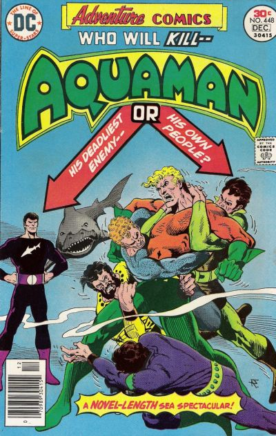 Cover for Adventure Comics (DC, 1938 series) #448