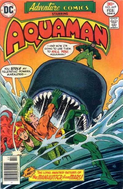 Cover for Adventure Comics (DC, 1938 series) #449