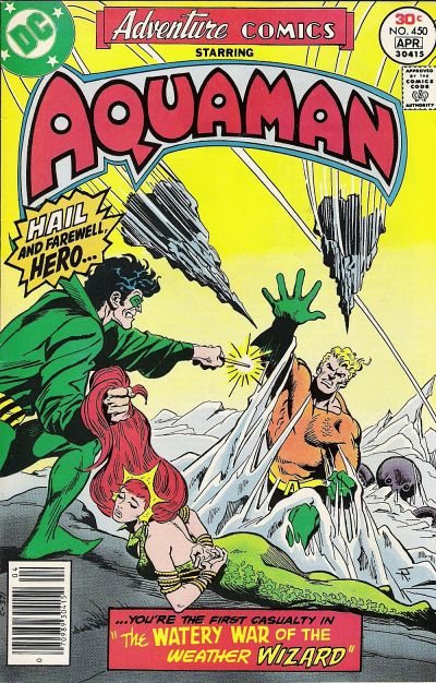 Cover for Adventure Comics (DC, 1938 series) #450