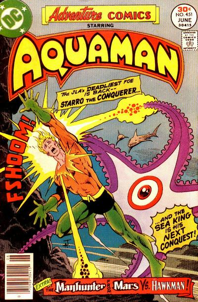 Cover for Adventure Comics (DC, 1938 series) #451
